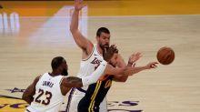 Lakers begin long road to NBA title repeat vs. Warriors