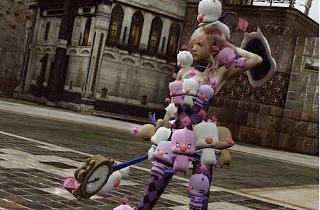 Lightning Returns with Japanese voice overs and Moogle costume DLC