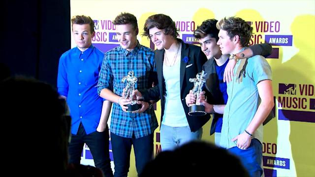 One Direction Incorporates Sex Sounds in New Song