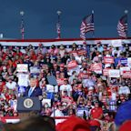 Trump focuses on law and order at Jacksonville, Florida, rally