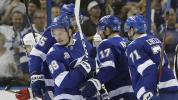Lightning finish off Devils in first round