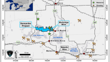 New Nickel Sulphide Mineralization discovered 1 km South of the Marbridge Nickel Mine at the Somanike Project in Quebec