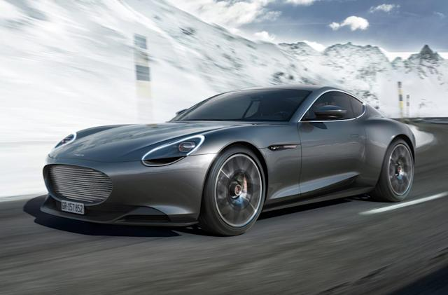Piëch's electric coupe charges to 80 percent in five minutes