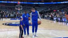 Seizure-free little fan can't believe he's about to meet NBA superstar Luka Doncic