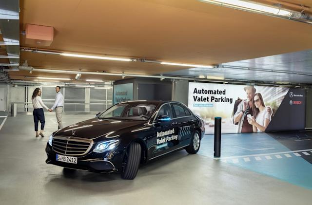 Daimler and Bosch inch closer to fully automated, self-driving valet service