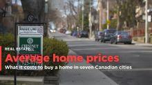 Average home prices across Canada