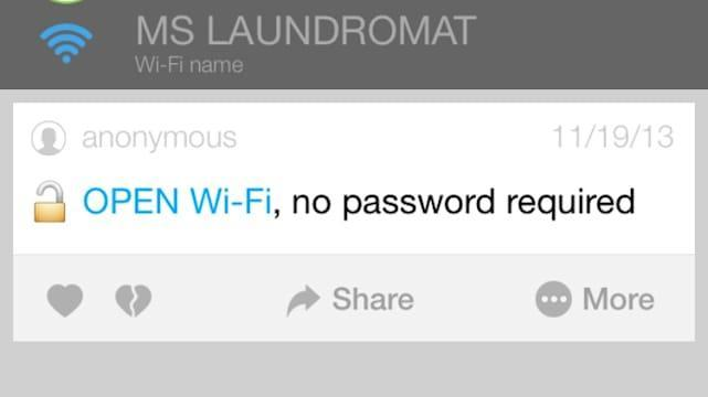 WiFi Map uses community power to share network passwords