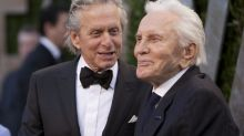 Michael Douglas Gets Emotional as Dad Kirk Supports Him at Walk of Fame Ceremony