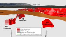TMAC Provides an Update on 2018 Exploration Activity; Drilling Continues to Intersect High-Grade Gold over Significant Widths at Both Doris and Madrid North