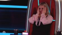 Kelly Clarkson loses her mind over 'Voice' contestant's dazzling range