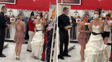 Bride ambushes fiancé at work demanding on the spot wedding