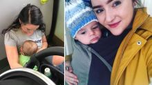 Mum forced to breastfeed on floor as commuters refuse to give up seats