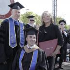 Mom Who Went to Every Grad School Class With Quadriplegic Son Receives Honorary Degree