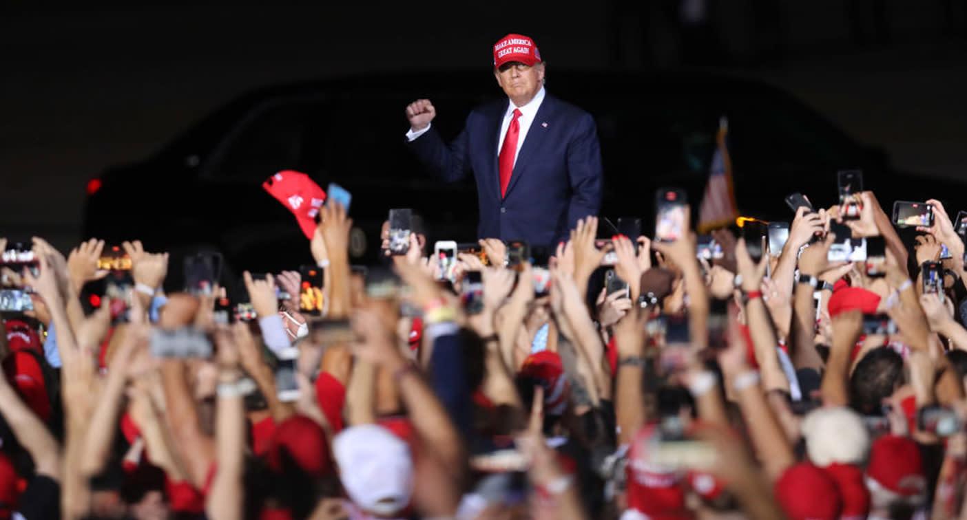 US Election: Are Trump rallies spreading coronavirus?