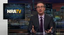 John Oliver takes aim at the NRA's streaming site