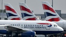 British Airways anula casi el 100% de sus vuelos en Reino Unido por una huelga