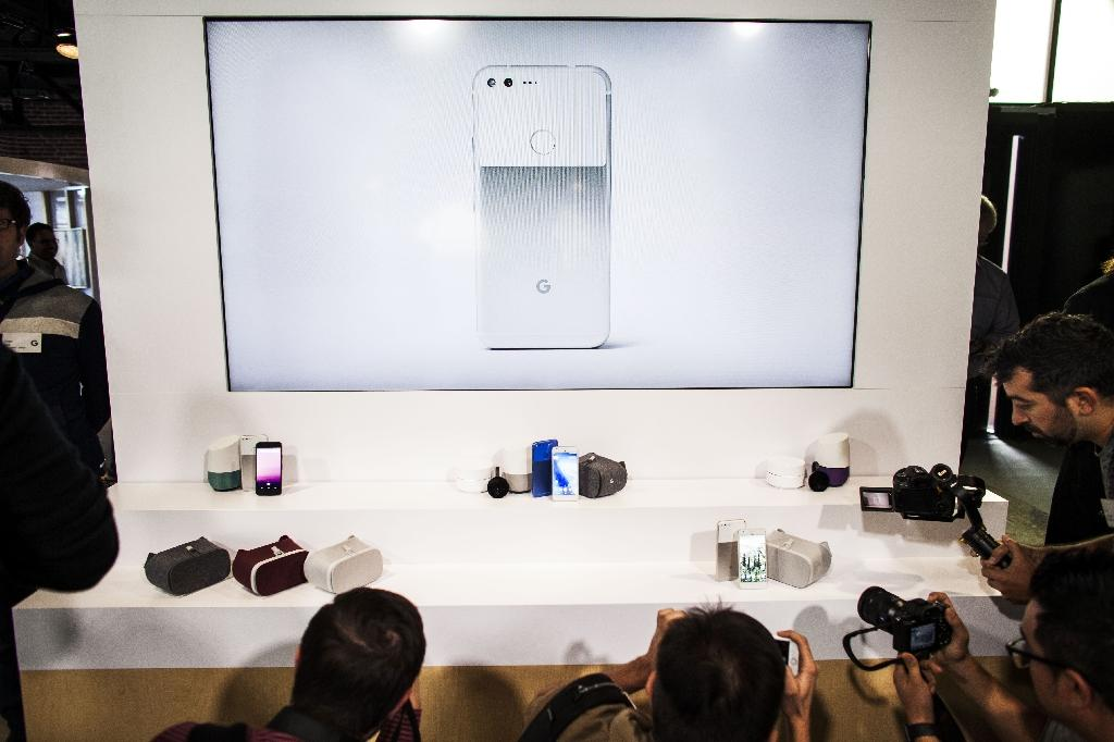 The San Francisco event on October 4, 2016, marked a shift in strategy for Google, which is undertaking a major drive to make Google Assistant artificial intelligence a futuristic force spanning all kinds of internet-linked devices (AFP Photo/Ramin Talaie)