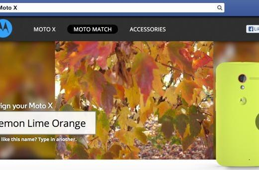Customize a Moto X the lazy way with Moto Match for Facebook