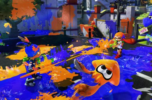 Splatoon to offer two-squid local multiplayer