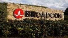 Broadcom Gives Upbeat Forecast; Order Losses Hit Shares