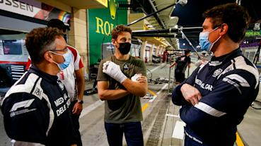 Grosjean詳述自己巴林GP嚴重事故後的緊急逃脫