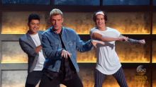 Nick Carter and Timbaland Show 'Boy Band' Contestants What's Up