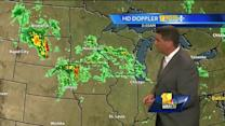 Sun & clouds today; Severe weather could return Thursday