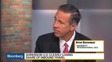Marriott CEO Says U.S. Clearly Losing Share of Inbound Travel