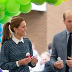 Kate Middleton and Prince William Wore Matching Blue to Queen Elizabeth Hospital for a Special Visit