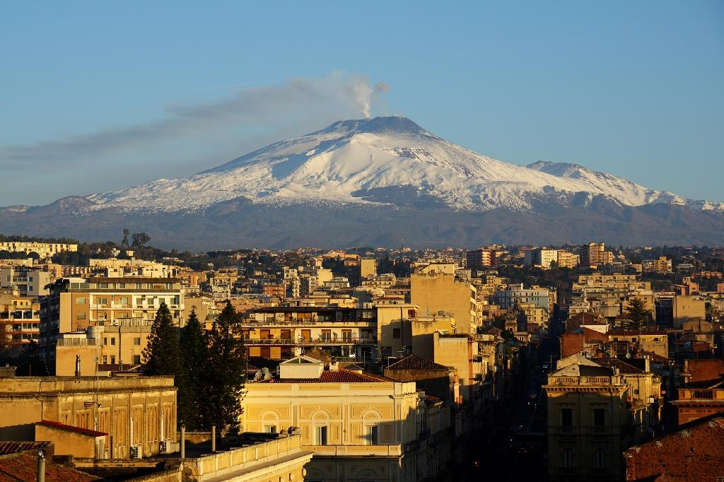Mount Etna erupted for the first time in more than a year in February