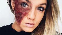 Emotionaler Missbrauch – mit Make-up verdeutlicht