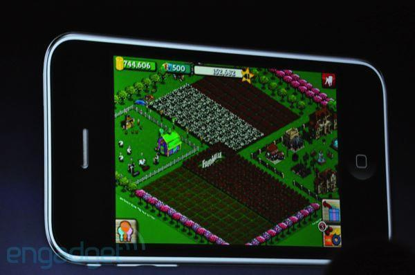 Farmville and Guitar Hero announced for iPhone