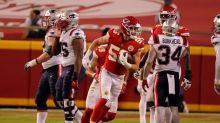 Chiefs lean on D to beat Pats 26-10 in COVID-19-delayed game
