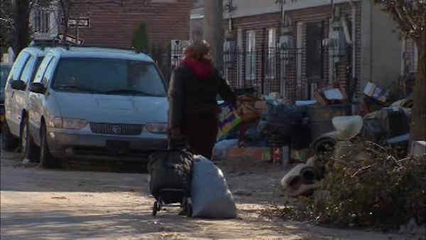 Sandy recovery effory in the Rockaways