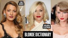 The Blonde Hair Dictionary: Defining Literally Every Shade Under the Sun