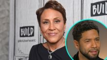 Robin Roberts Reacts to Jussie Smollett's Arrest After Her TV Interview With Actor