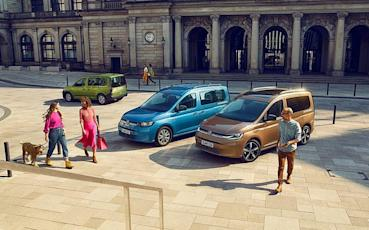 VWCV全新2021年式Caddy歐洲搶先上市,車型編成與性能數據完整公布