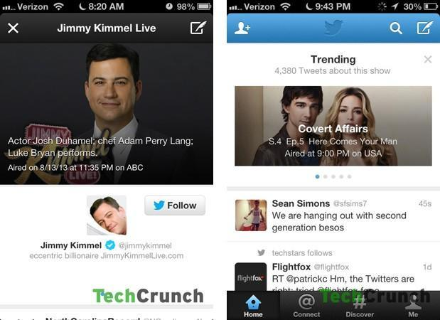 Twitter experiments with trending TV box on some users' timelines