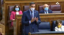 Lo que se ve en esta imagen de Pedro Sánchez en el Congreso es inédito y afecta a todos los diputados
