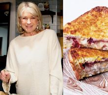 Martha Stewart fans are loving her recipe for a leftover turkey sandwich that looks like a Thanksgiving grilled cheese