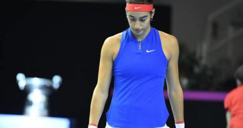 Tennis - Fed Cup - Fed Cup : Caroline Garcia jugée «inapte» à jouer par la FFT