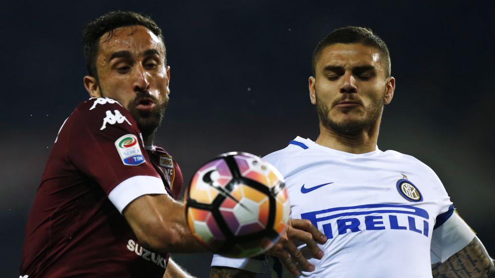 Inter frenó su racha con un empate ante Torino
