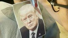Bizarro corte de pelo con el rostro de Trump es furor en Taiwán