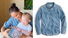 Meghan Markle dresses down in $78 shirt for Archie's birthday video