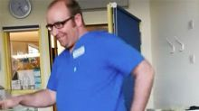 Doctor's heart-warming dance for sick boy in ICU