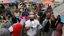 Venezuela produce market is at centre of Caracas COVID-19 outbreak