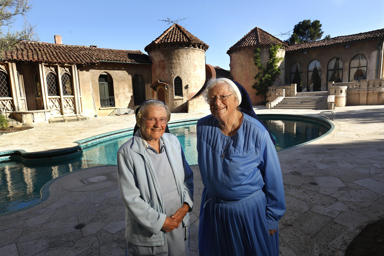Sister Catherine Holzman and Sister Rita Callanan
