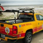 Search continues for 8-year-old swept up by rip current