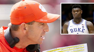 Dabo would love to have Zion on his team