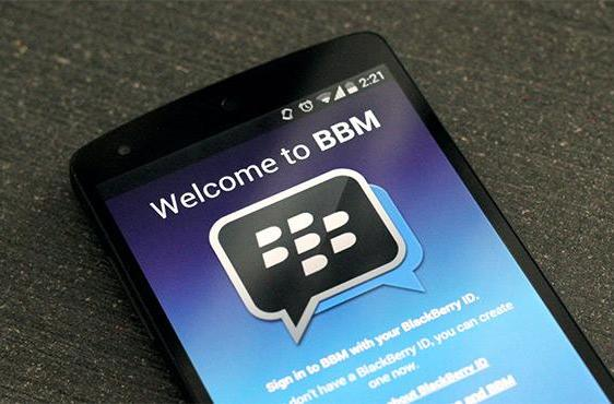 BlackBerry Messenger now available to phones running Android 2.3
